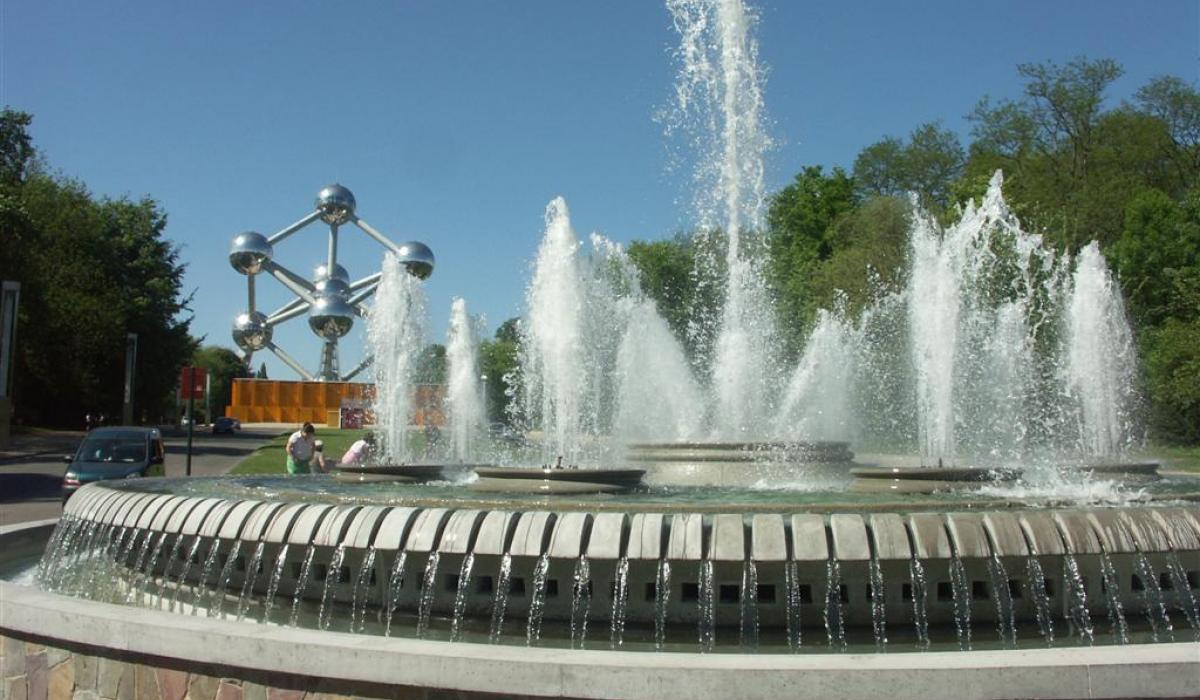 Brussels, Expo 58 Fountain