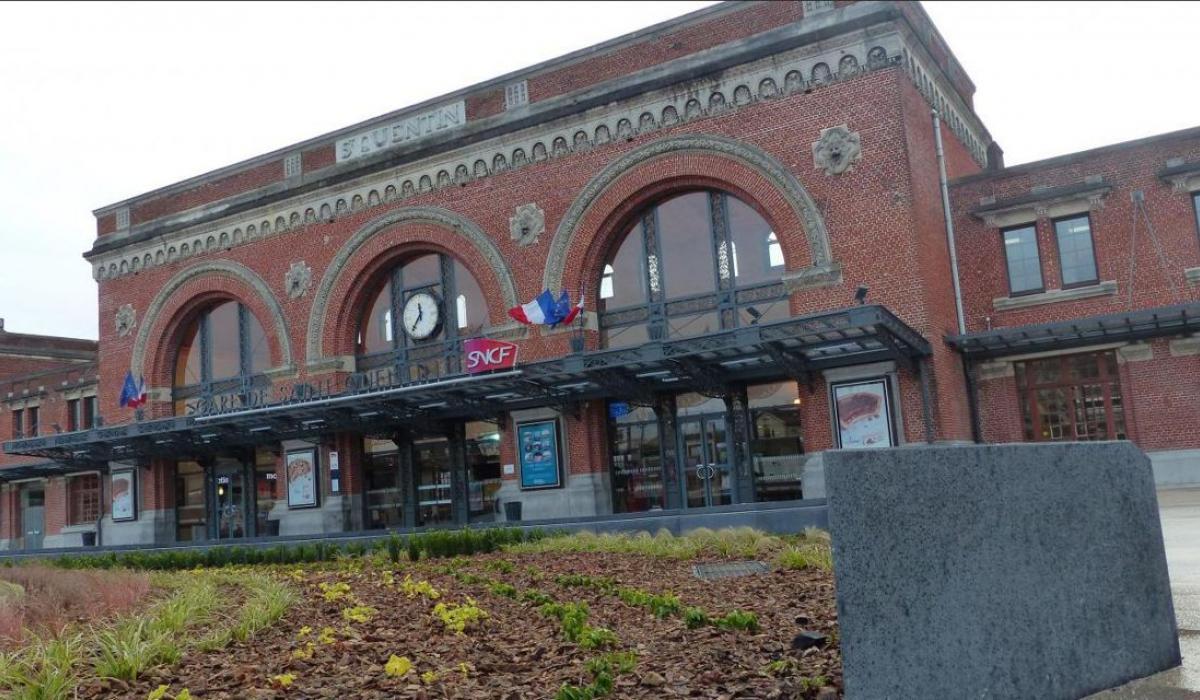 Gare Saint-Quentin (Photo Courrier Picard)