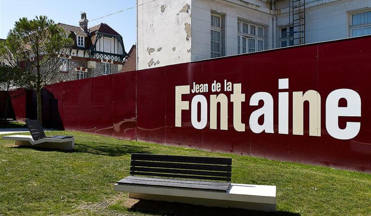 Bench Touquet Ville
