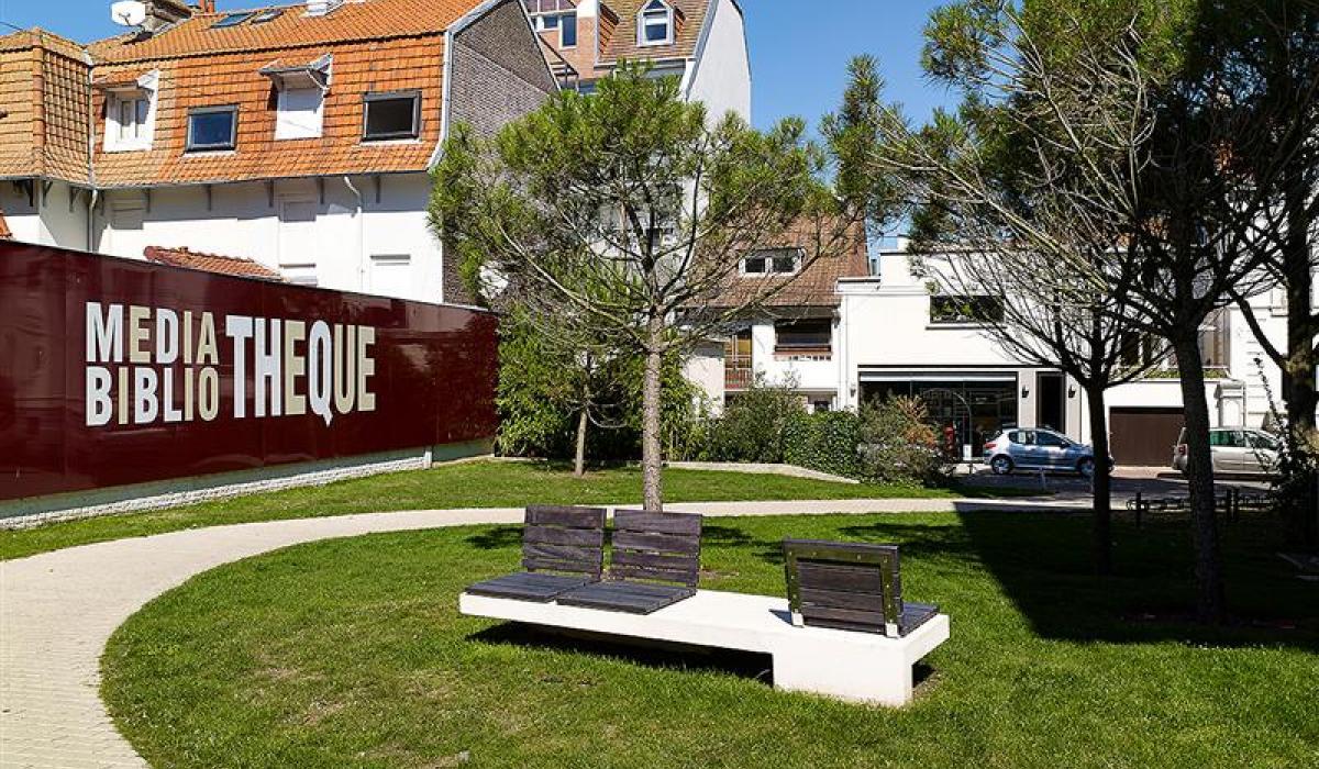 Bench Touquet Ville2