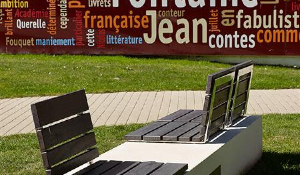 Bench Touquet Ville2