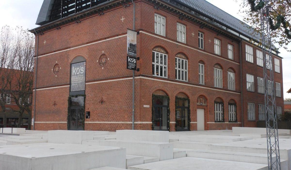 KOS Urban Art Museum plaza