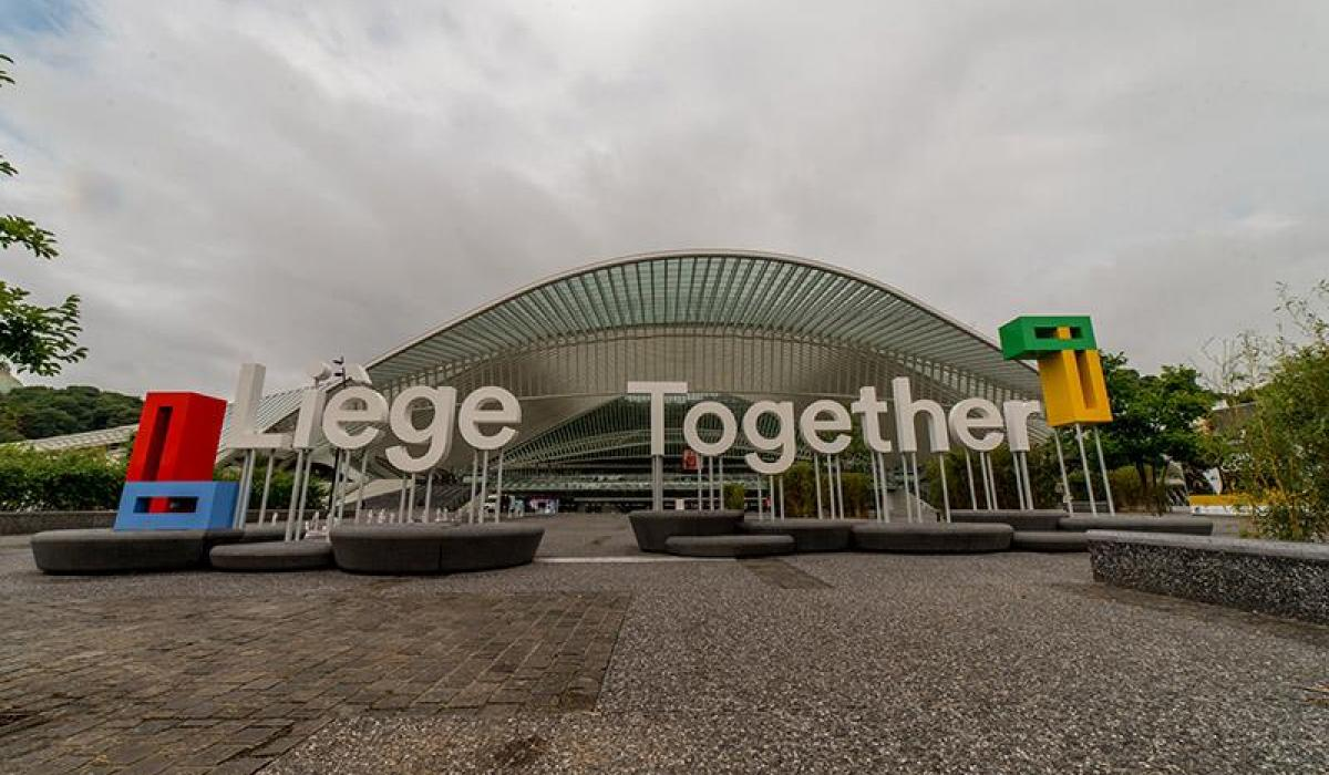 Liège Together logo Liège Guillemins