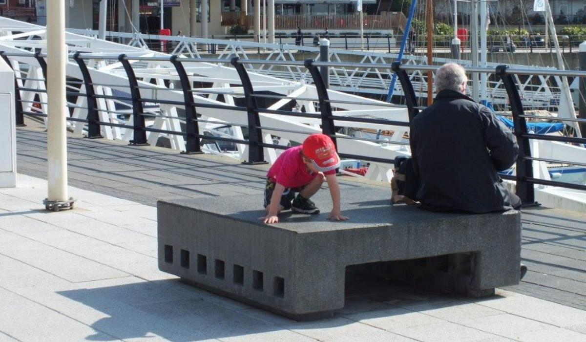 Ouvertura bench in Portsmouth