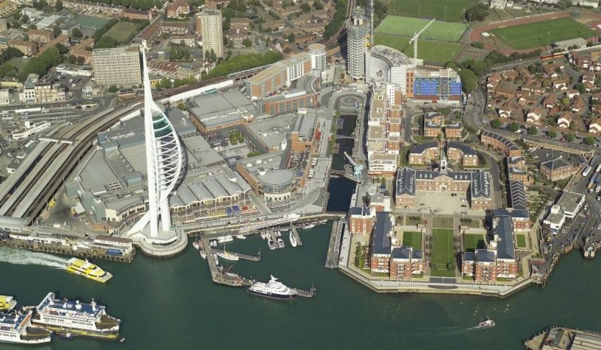 Portsmouth birdeye view