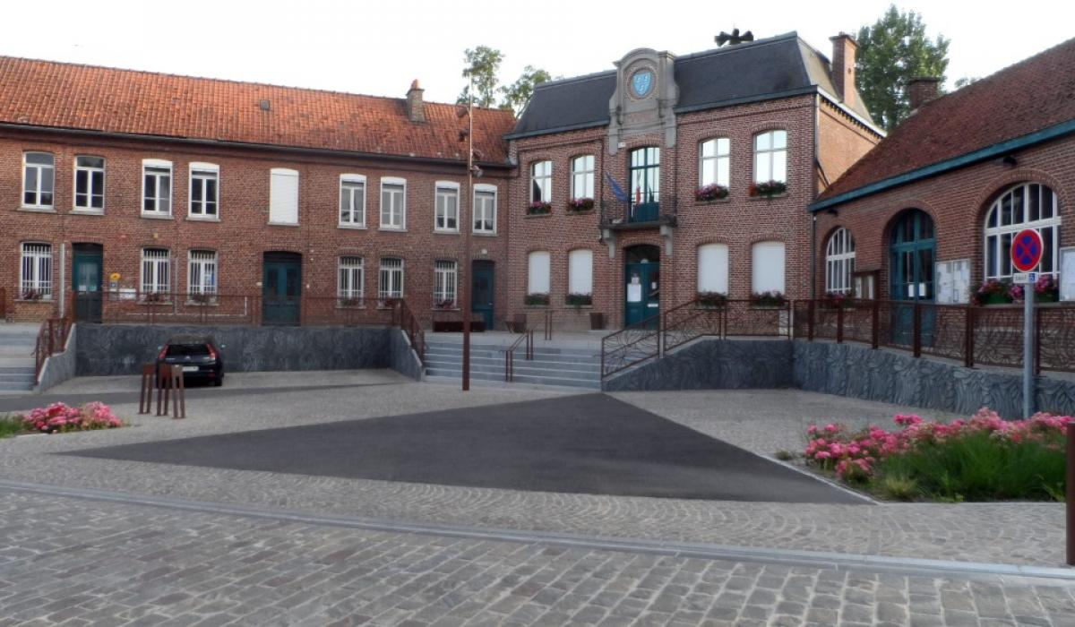 Panorama Mairie Sebourg
