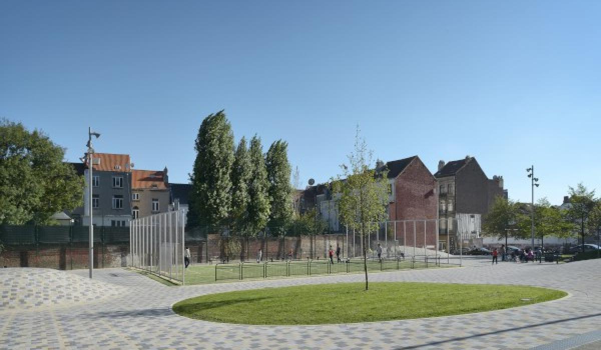 Sint Remipark, Photo Georges de Kinder - MRBC-MBHG - Scada pavement