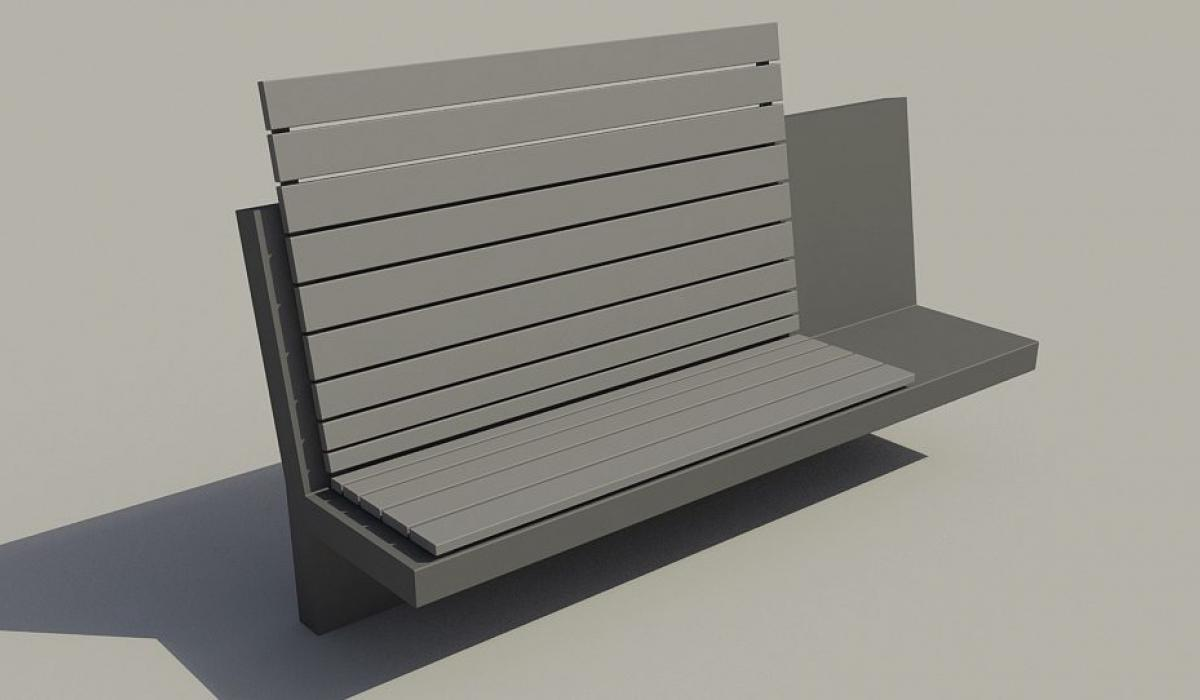 Bench Touquet Vent