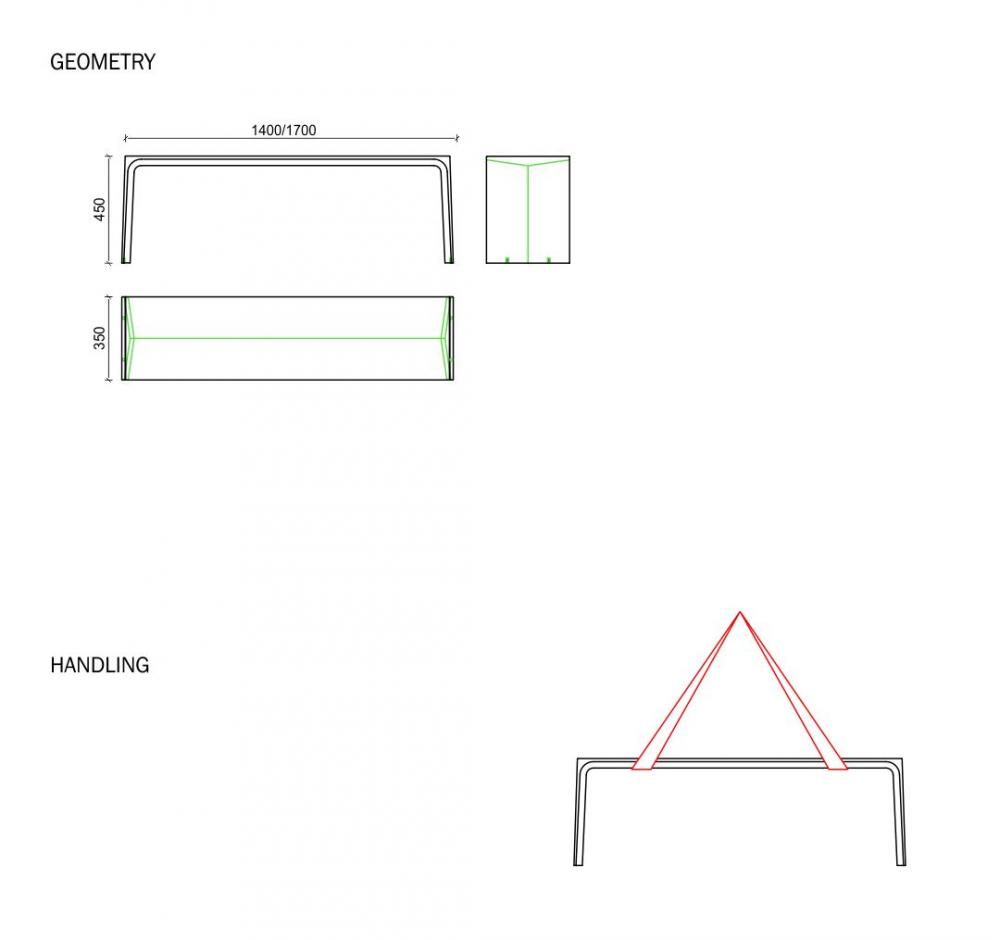 Plan Bench Line & Line