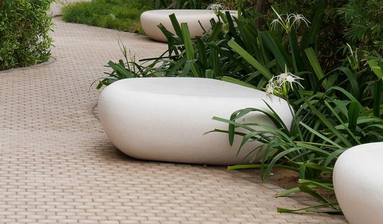 Egg Chair Riet.Benches Urbastyle