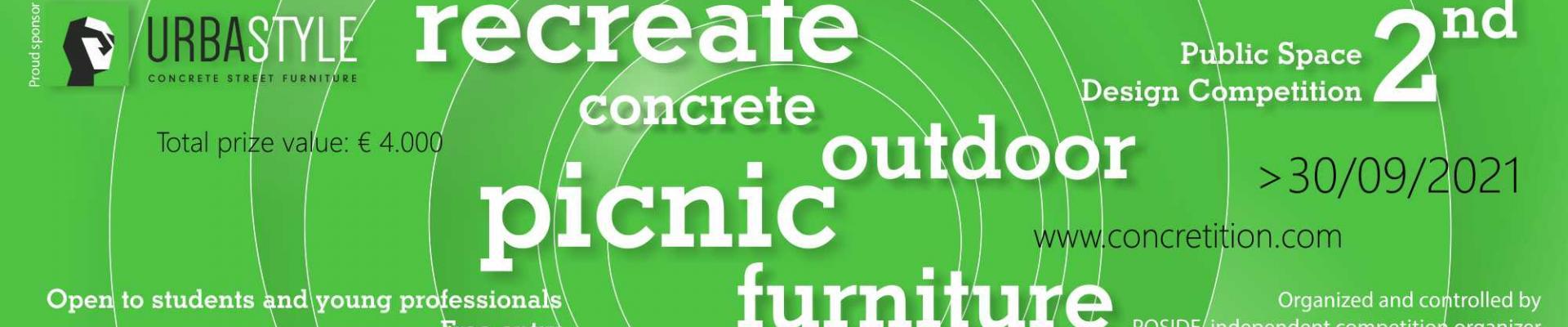 CONCRETITION DESIGN - Public Space Design Competition