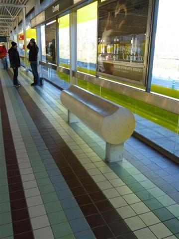 Standing Bench Tube Urbastyle