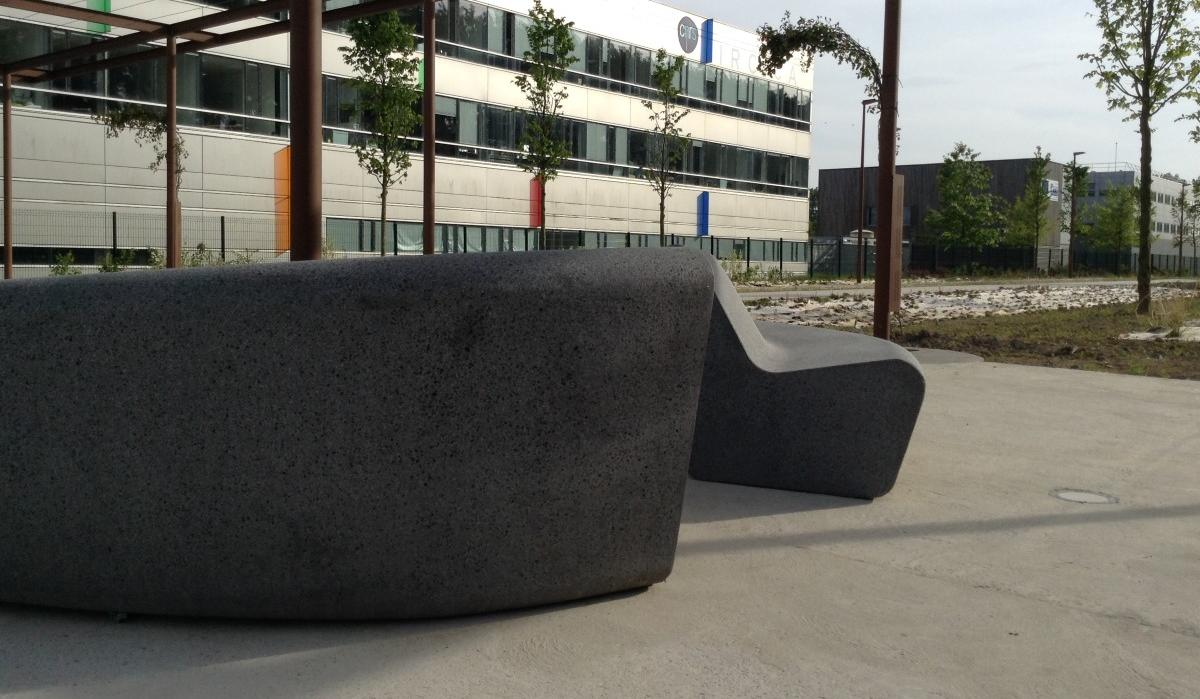 Bench In & Out, design Lucie Soufflet