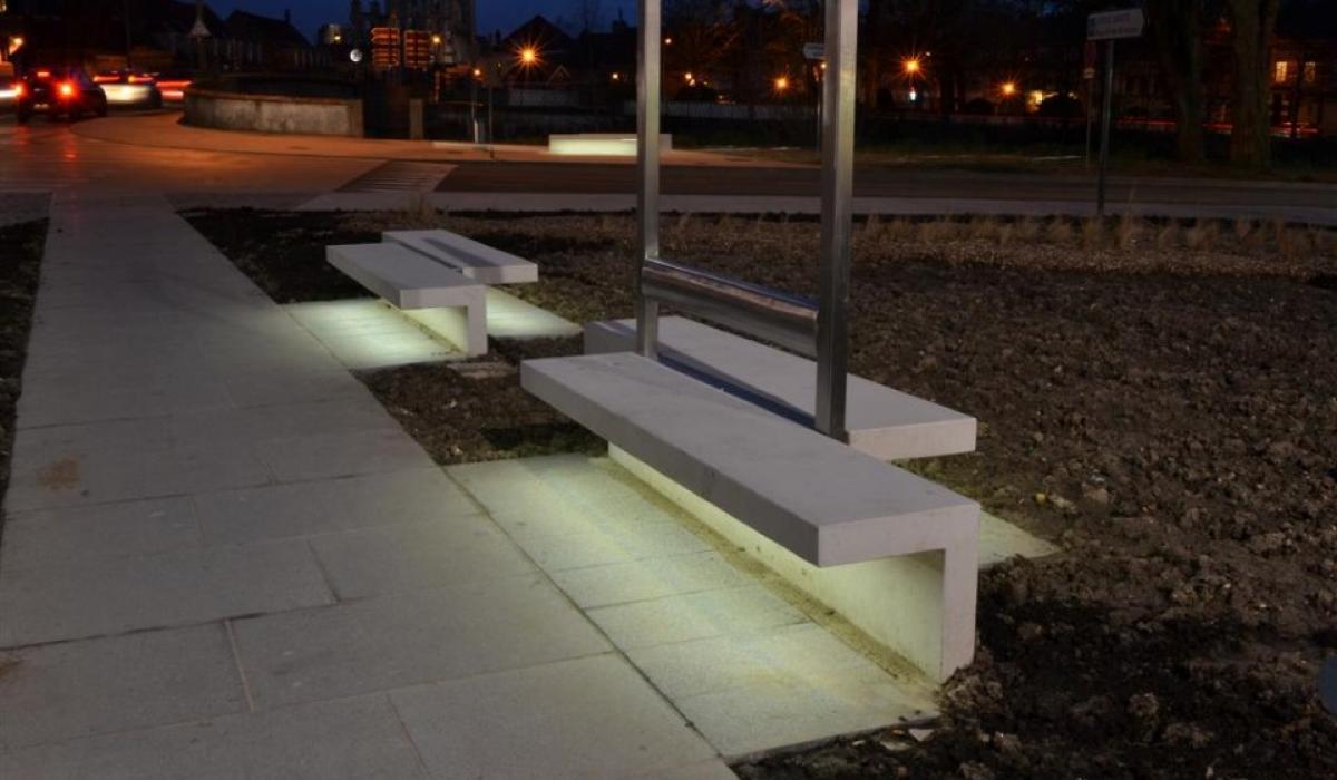 Bench Led Line Urbastyle