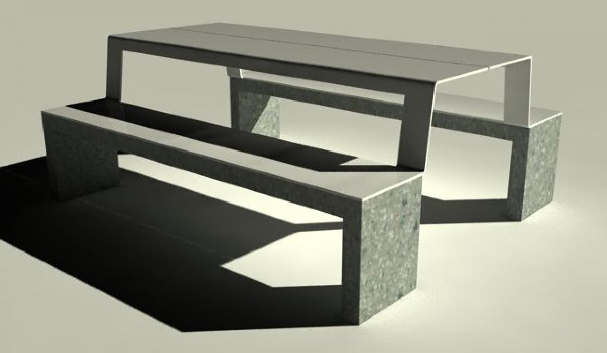 Bench and Table Picknick