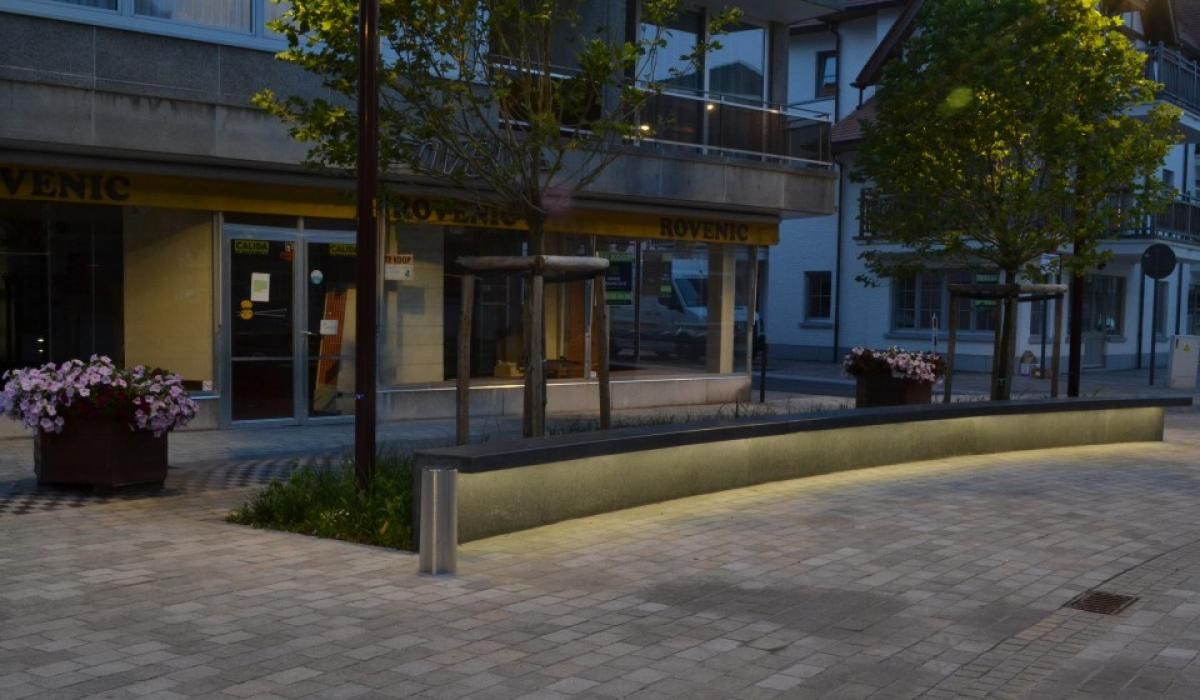De Haan LED line benches
