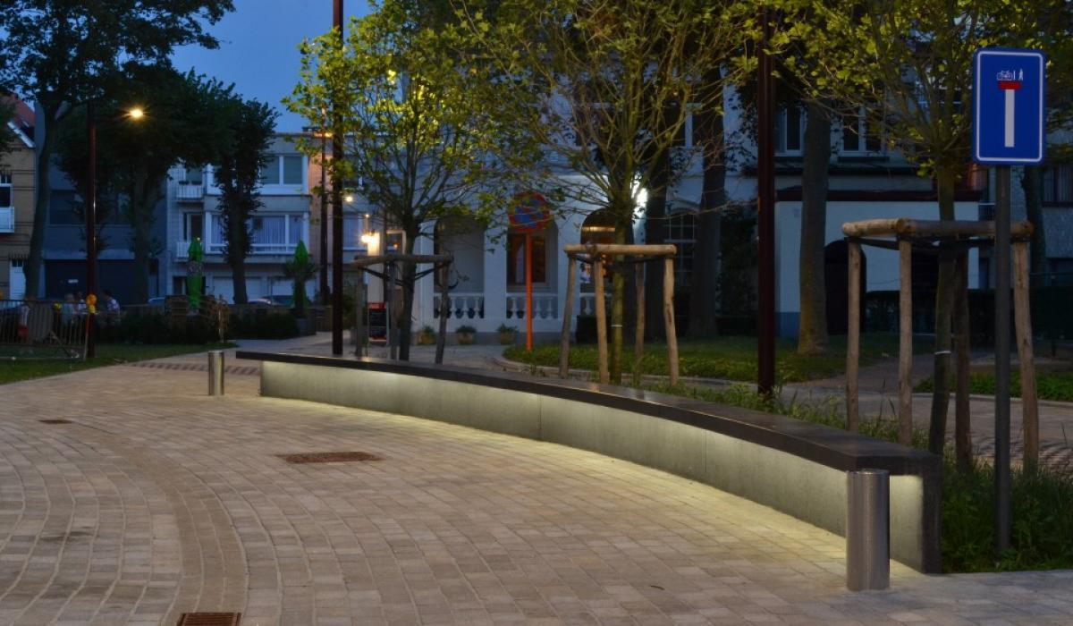 De Haan LED line bancs