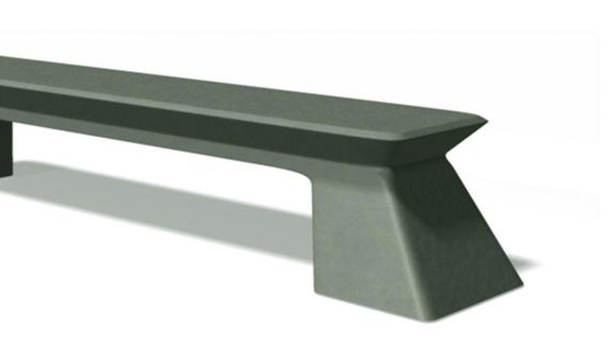 Solid Block bench
