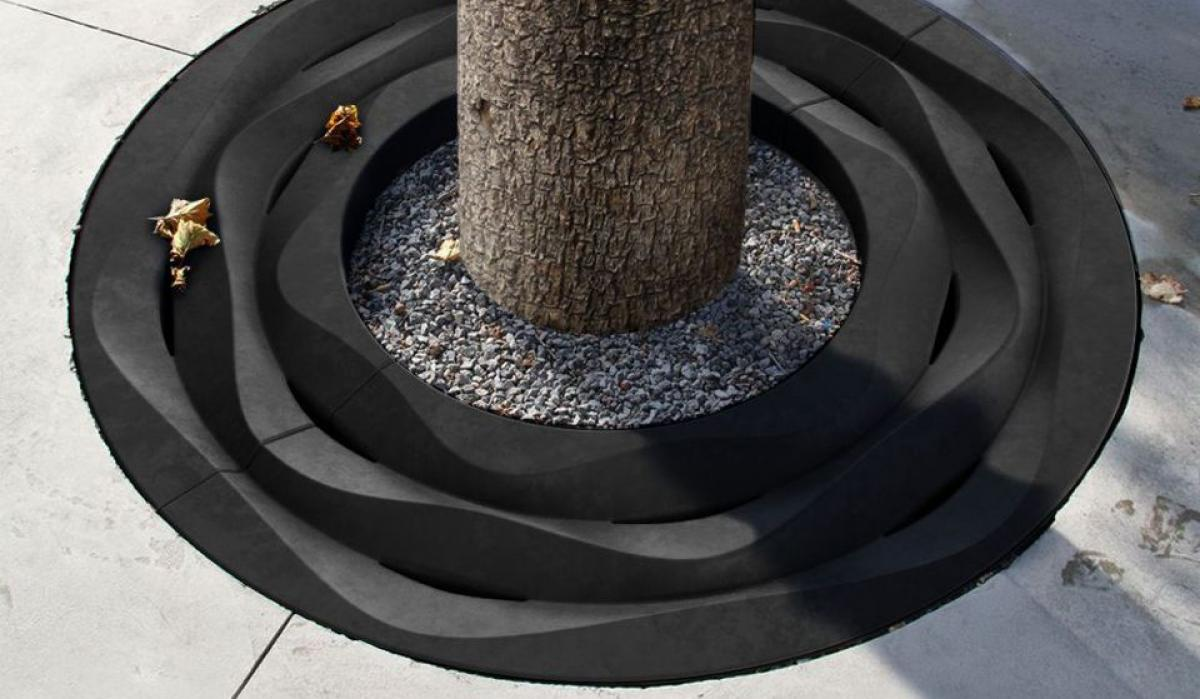 Tree Grate Sand anthracite