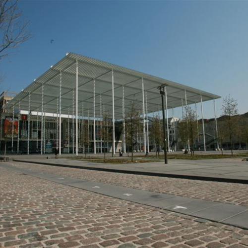 Theaterplein Antwerpen path