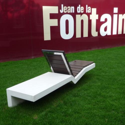 Bench Touquet Soleil
