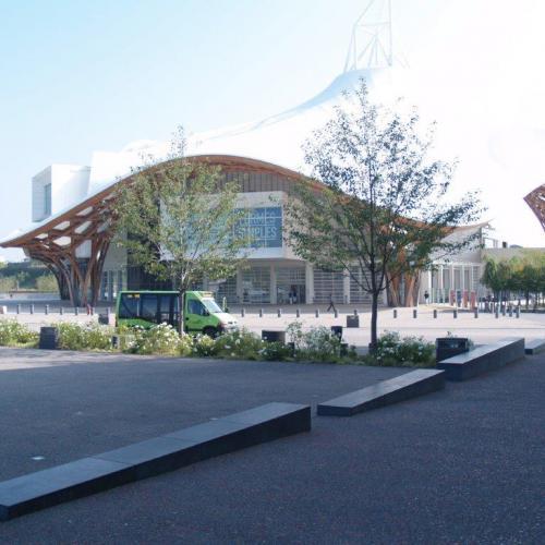 Benches Centre Pompidou Metz