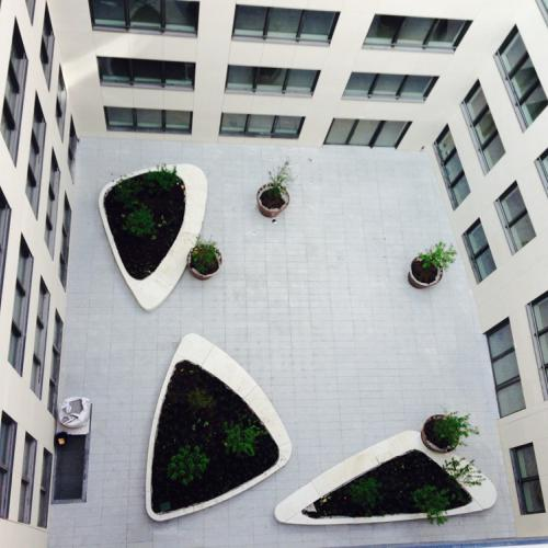 Courtyard Ecowest Levallois