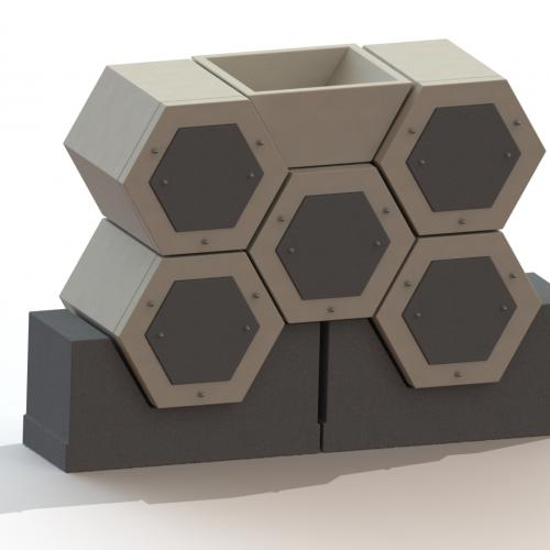 Grobbendonk, Osiris Hexagonal