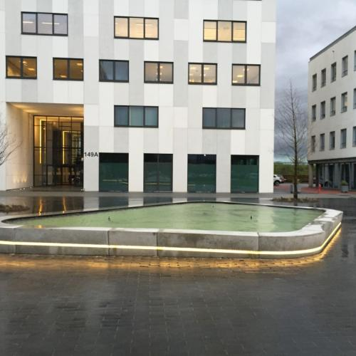 Roeselare Accent Business Park fountain