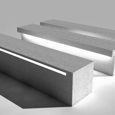 Bench LED-Line