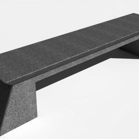 Bench Solid Block