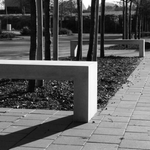 Benches and access ramp