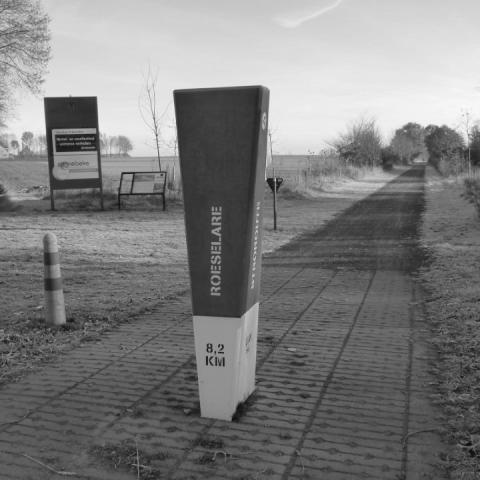 Cycling routes milestones