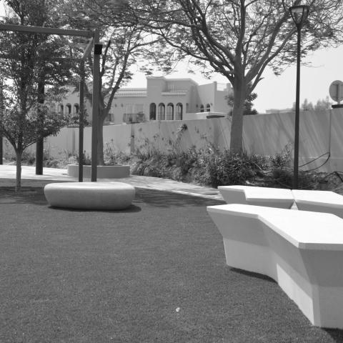 Layan Community seating, Dubai, UAE