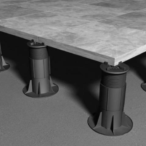 RYNO PAVE Fixed head adjustable paving pedestal