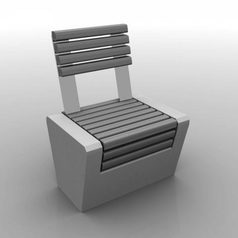 Seat Wood-Line straight