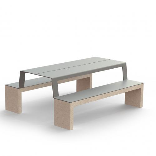 Table and Bench Picknick