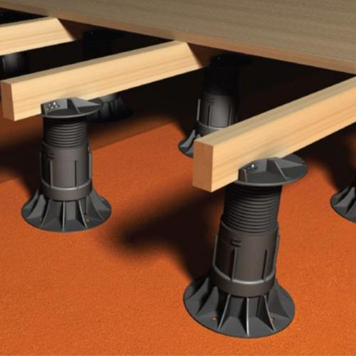 RYNO DECK Self-levelling adjustable decking pedestal