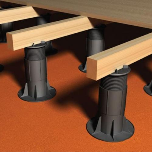 RYNO DECK Fixed head adjustable decking pedestal